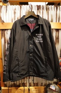 "ROARK REVIVAL ""WAYWARD YOUTH"" COACHES JACKET (BLACK)"