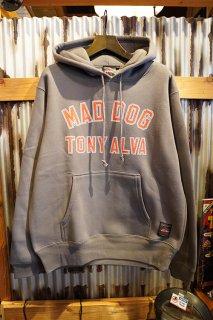 "ALVA SKATES TONY ALVA ""MAD DOG""PULLOVER HOODIE (PEPER)"