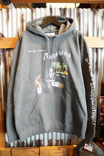 JUNGLES DISAPPOINTMENY HOODIE (WASHED BLACK)
