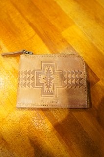 PENDLETON ZIP WALLET (TAN)