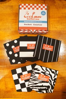 Cookman Pocket Coaster (「Mono」Set)