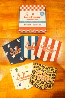 Cookman Pocket Coaster (「Color」Set)