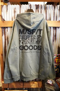 MISFIT SHAPES HARD GOODS HOOD (WASHED GREEN)