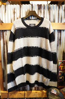 MISFIT SHAPES KINGS WOULD KNIT (WASHED BLACK)