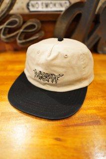 MISFIT SHAPES ENTER MADMAN CAP (WASHED BLACK)