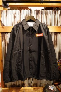 GLOBE × ZPI Coaches Jacket (Black)