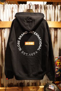 GLOBE × ZPI Hoodie (Black)