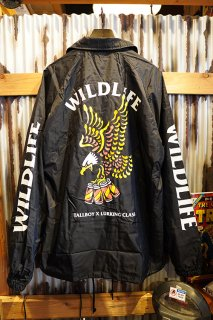 LURKING CLASS BY SKETCHY TANK WILD LIFE x TALLBOY COACHES JACKET (BLACK)