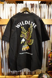 LURKING CLASS BY SKETCHY TANK WILD LIFE x TALLBOY TEE (BLACK)