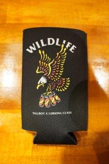 LURKING CLASS BY SKETCHY TANK WILD LIFE x TALLBOY KOOZIE (BLACK)