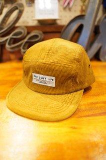 THE QUIET LIFE Cord 5 Panel Camper Hat (TAN)