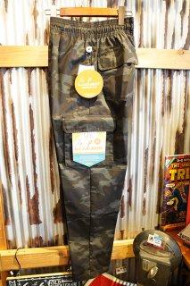 Cookman Chef Cargo Pants (「Ripstop」 Black Woodland Camo)