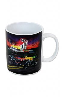 ROUTE 66 DINER MUG CUP