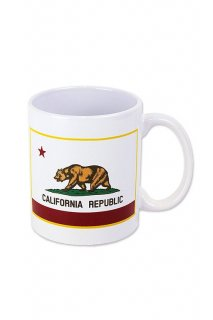 CALIFORNIA REPUBLIC MUG CUP