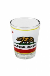 CALIFORNIA REPUBLIC SHOT GLASS