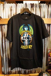 DOGTOWN Social Distancing T-shirt (Black)