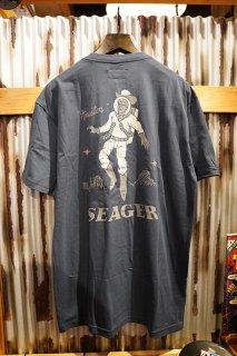 SEAGER SPACE COWBOY TEE (INDIGO)