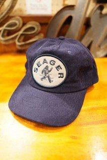 SEAGER TRAILBLAZIN' CORDUROY SNAPBACK CAP (NAVY)
