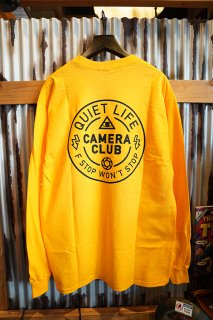 THE QUIET LIFE Won't Stop Long Sleeve Tee (Gold)