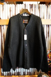 TOWNCRAFT JACQUARD 70'S CARDIGAN (BLACK)