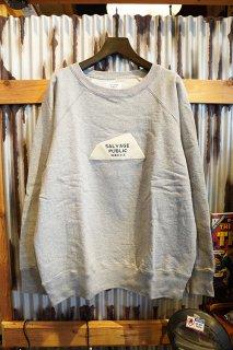 SALVAGE PUBLIC College Sweatshirt Diamond Head Logo (Grey)