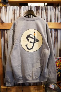 Gnarhunters SNORKE Crew Sweat (Grey)