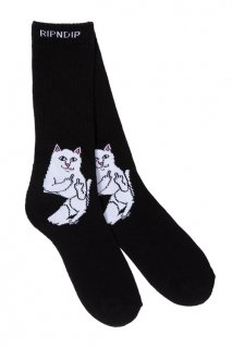 RIPNDIP Lord Nermal Socks (Black)