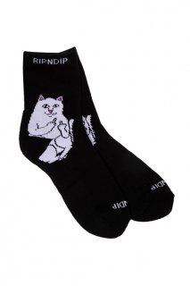 RIPNDIP Lord Nermal Mid Socks (Black)