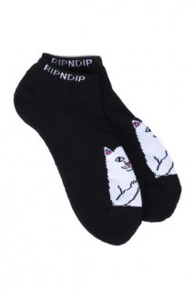 RIPNDIP Lord Nermal Ankle Socks (Black)