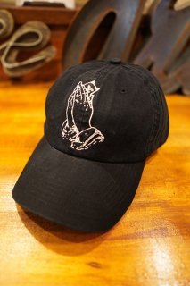 RIPNDIP Praying Hands Dad Hat (Black)