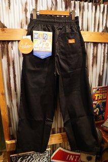 Cookman Wide Chef Pants (「Black」)
