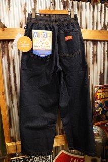Cookman Wide Chef Pants (「Denim」 Navy)