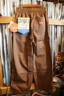 Cookman Wide Chef Pants (「Chocolate」)