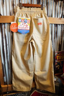 Cookman Wide Chef Pants (「Sand」)