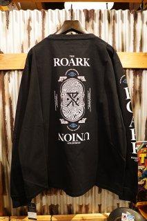 """ROARK REVIVAL """"R.E.U"""" L/S TEE (BLACK)"""