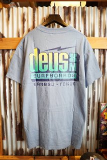 DEUS EX MACHINA Barracuda Tee (Barrel Blue)