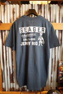 SEAGER THE JERRY RIG TEE (INDIGO)