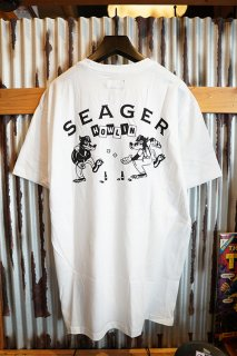 SEAGER THE HOWLIN TEE (WHITE)