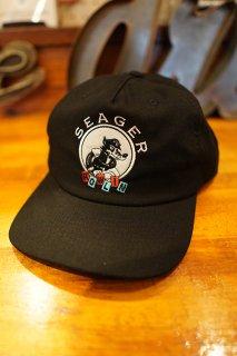SEAGER HOWLIN' SNAPBACK CAP (BLACK)