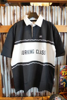 LURKING CLASS BY SKETCHY TANK RUGER S/S SHIRT(BLACK)