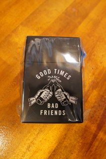 LURKING CLASS BY SKETCHY TANK GOOD TIME CIGARETTE CASE (BLACK)