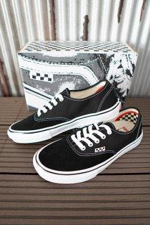 VANS Skate Authentic Black / White
