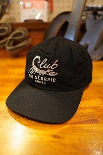 ROARK REVIVAL CLUB DU SCORPIO 5 PANEL CAP (BLACK)