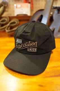 ROARK REVIVAL EXPEDITION UNION 5 PANEL CAP (BLACK)