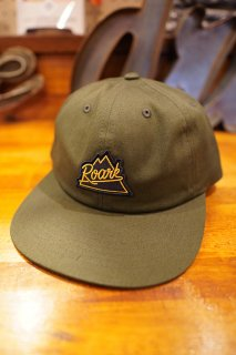 ROARK REVIVAL PEAKING 6 PANEL CAP (OLIVE)