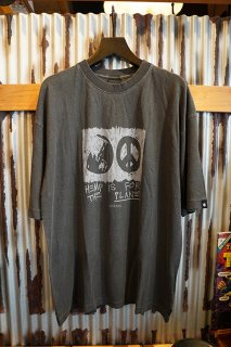 AFENDS For The Planet Hemp Oversized Tee (STONE BLACK)