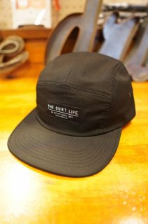 THE QUIET LIFE Foundation 5 Panel Camper Hat -Made in USA- (Black)