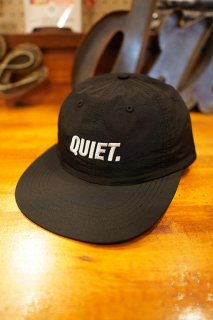 THE QUIET LIFE Sport Polo Hat -Made in USA- (Black)