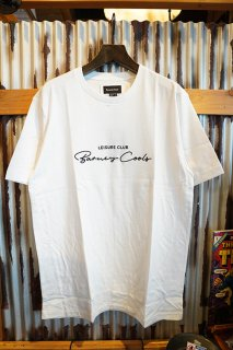 Barney Cools Club Script Tee (White)