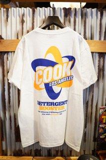 Cookman T-shirts 「Laundry」 (WHITE)